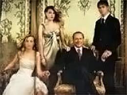 Berlusconi e figli